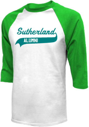 Sutherland Middle School Raglan Shirts