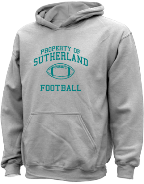Sutherland Middle School Kid Hooded Sweatshirts