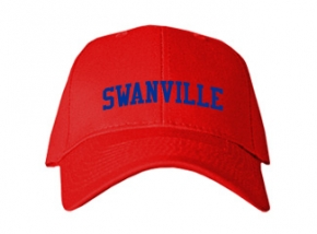 Swanville High School Kid Embroidered Baseball Caps