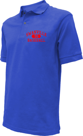Swanville High School Embroidered Polo Shirts