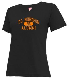 T.c. Roberson High School V-neck Shirts