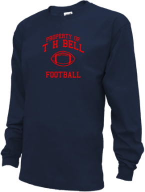 T H Bell Junior High School Kid Long Sleeve Shirts