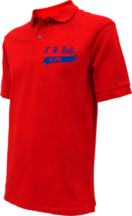 T H Bell Junior High School Embroidered Polo Shirts