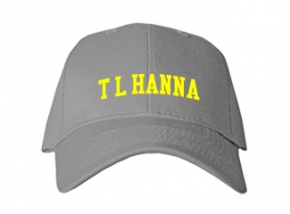 T L Hanna High School Kid Embroidered Baseball Caps