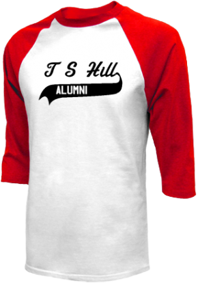 T S Hill Middle School Raglan Shirts