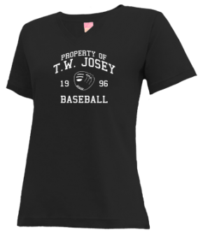 T.w. Josey High School V-neck Shirts