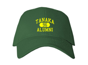 Tanaka Elementary School Embroidered Baseball Caps