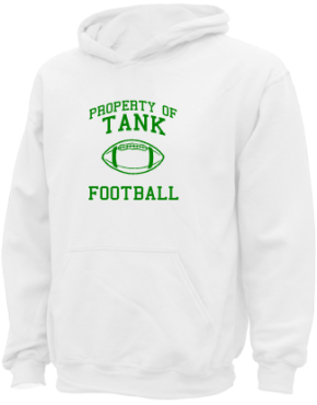 Tank Elementary School Kid Hooded Sweatshirts