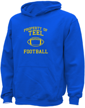 Teel Middle School Kid Hooded Sweatshirts