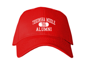 Tekonsha Middle School Embroidered Baseball Caps