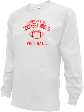 Tekonsha Middle School Kid Long Sleeve Shirts