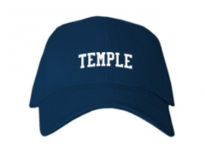 Temple High School Kid Embroidered Baseball Caps