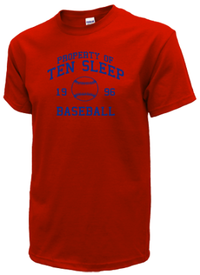 Ten Sleep High School T-Shirts