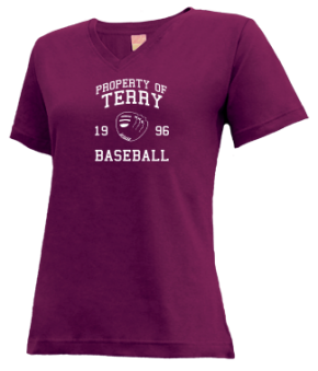 Terry High School V-neck Shirts