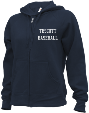 Tescott High School Zip-up Hoodies