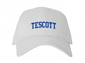Tescott High School Kid Embroidered Baseball Caps