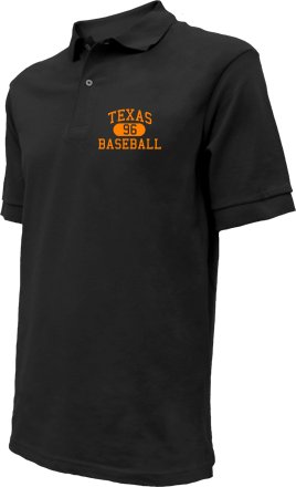 Texas High School Embroidered Polo Shirts