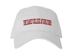 The Early College At Guilford High School Kid Embroidered Baseball Caps