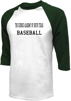 The Science Academy Of South Texas High School Raglan Shirts