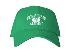 Thomas Edison Intermediate School Embroidered Baseball Caps