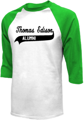 Thomas Edison Intermediate School Raglan Shirts