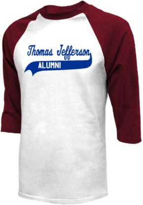 Thomas Jefferson Junior High School Raglan Shirts