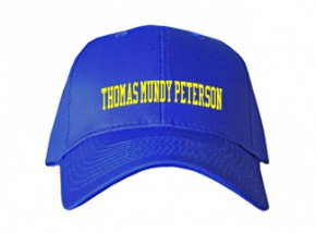 Thomas Mundy Peterson Elementary School Kid Embroidered Baseball Caps