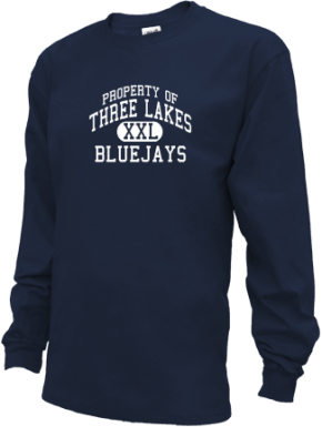 Three Lakes High School Kid Long Sleeve Shirts
