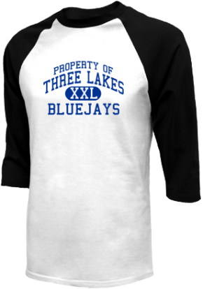 Three Lakes High School Raglan Shirts