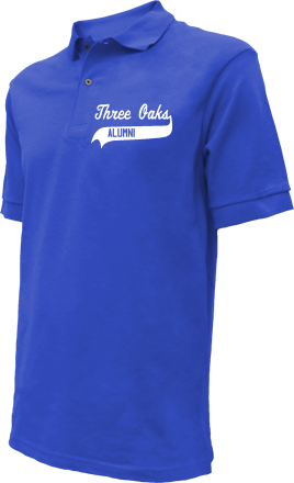 Three Oaks Middle School Embroidered Polo Shirts