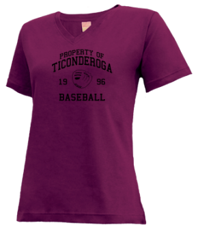 Ticonderoga High School V-neck Shirts