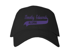 Timothy Edwards Middle School Embroidered Baseball Caps