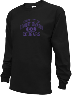 Timothy Edwards Middle School Kid Long Sleeve Shirts