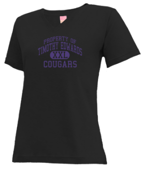Timothy Edwards Middle School V-neck Shirts