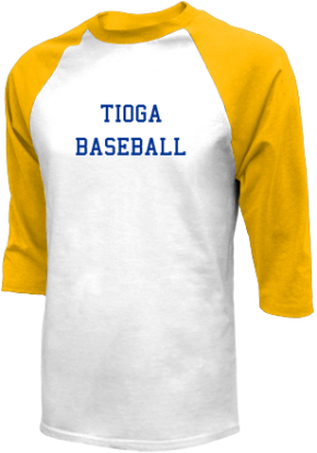 Tioga High School Raglan Shirts