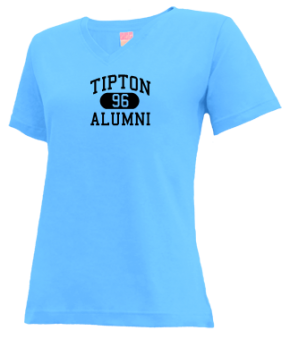 Tipton High School V-neck Shirts