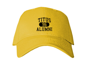Titus Elementary School Embroidered Baseball Caps
