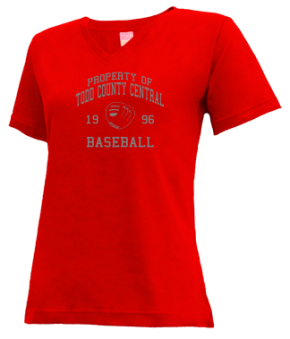 Todd County Central High School V-neck Shirts