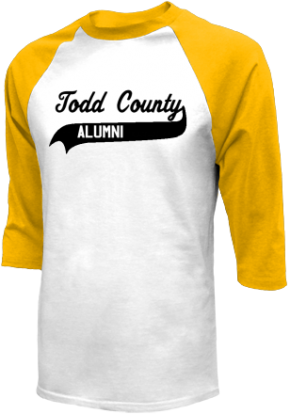 Todd County Middle School Raglan Shirts