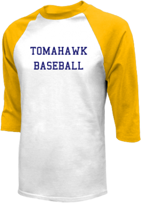 Tomahawk High School Raglan Shirts