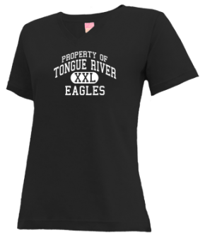 Tongue River High School V-neck Shirts