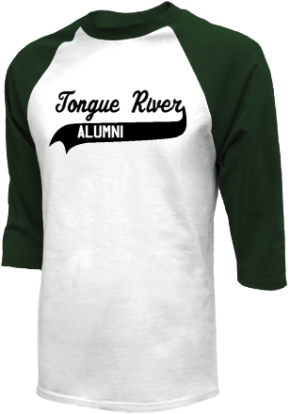 Tongue River High School Raglan Shirts