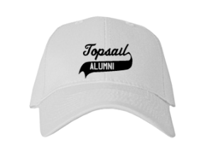 Topsail Middle School Embroidered Baseball Caps