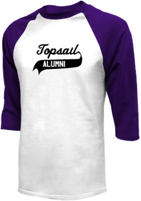 Topsail Middle School Raglan Shirts