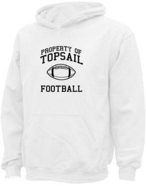 Topsail Middle School Kid Hooded Sweatshirts