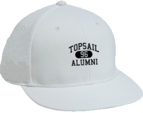 Topsail Middle School Flat Visor Caps