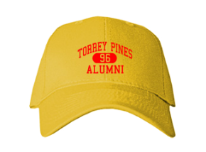 Torrey Pines High School Embroidered Baseball Caps