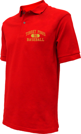 Torrey Pines High School Embroidered Polo Shirts