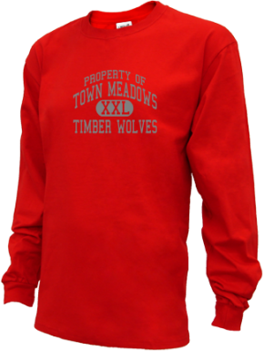 Town Meadows Elementary School Kid Long Sleeve Shirts
