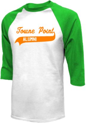 Towne Point Elementary School Raglan Shirts